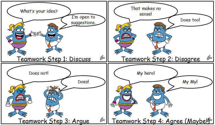 Teamwork Step by Step