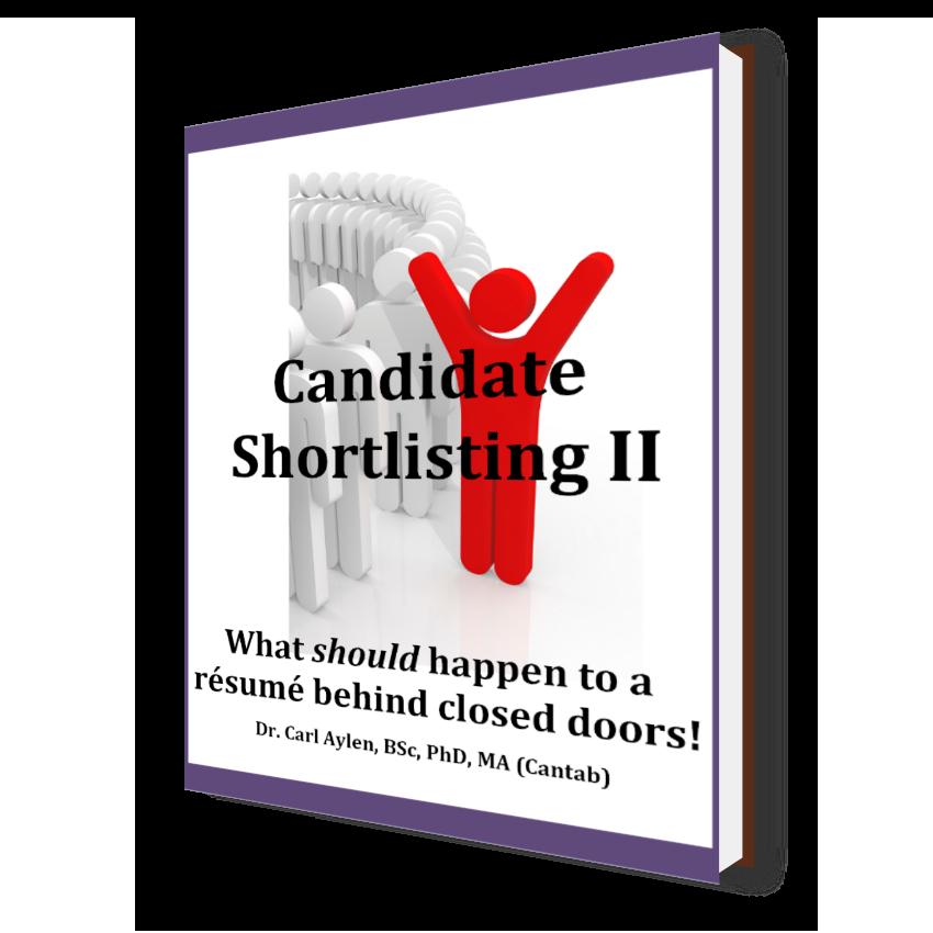 Candidate Shortlisting II